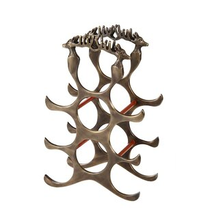 Bouille Deer Floor Wine Bottle Rack by Lo..