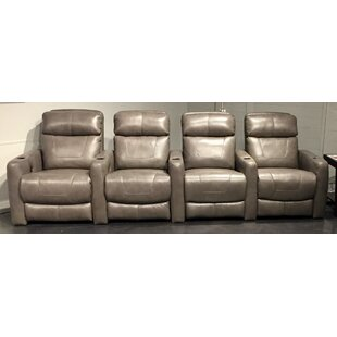 Premier Leather Home Theater Row Seating