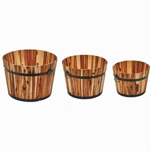 Barrel Planters You Ll Love Wayfair