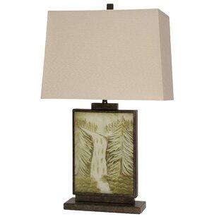 Reviews Miles 30.75 Table Lamp By Loon Peak
