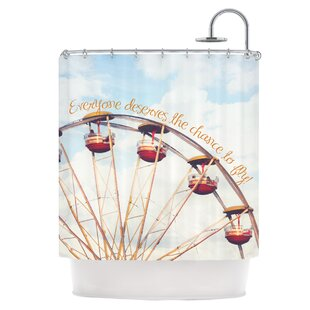 The Chance To Fly Single Shower Curtain