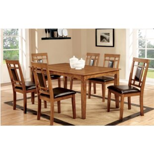 Yerger 7 Piece Dining Set Winston Porter