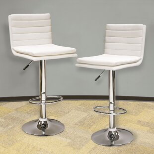 Adjustable Height Swivel Bar Stool (Set of 2) AmeriHome