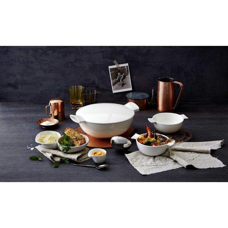 Villeroy /& Boch Soup Passion Soup//Sandwich Tray Set of 4