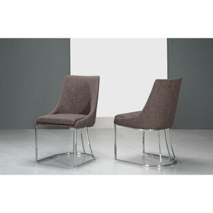 Clopton Upholstered Dining Chair (Set Of 2) by Orren Ellis Today Sale Only