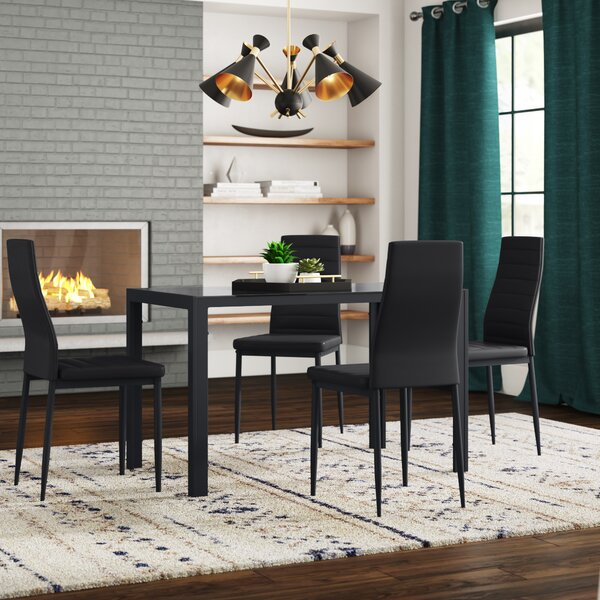 Butcher Block Dining Table Set Wayfair
