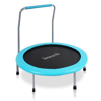 SereneLife Foldable Round Trampoline