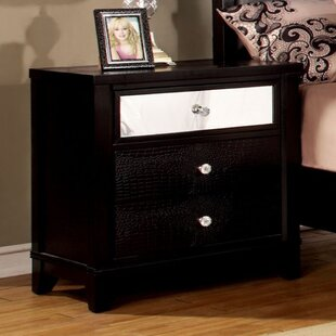 Red Barrel Studio Marique 3 Drawer Nightstand