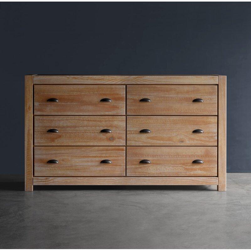 Rainer 6 Drawer Double Dresser