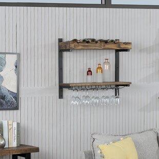 Veropeso 6 Wall Mounted Wine Glass Rack b..