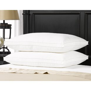 Ella Jayne Home Exquisite Hotel Fiber Pillow (Set of 2)