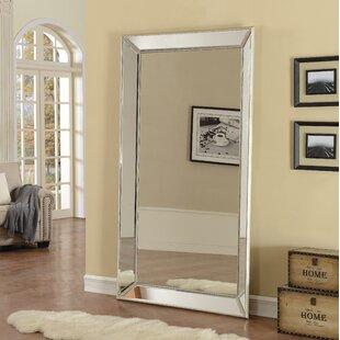 Primm Antique Floor Beveled Full Length Mirror