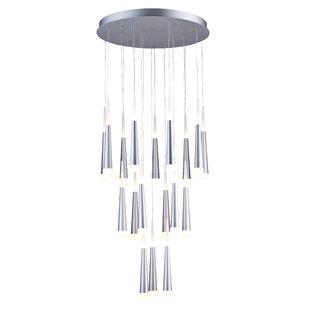 Orren Ellis Dobrovinska 18-Light LED Pendant