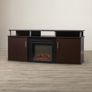 "Elian TV Stand for TVs up to 70"" with Fireplace by Wade Logan SKU:AD652010 Guide"