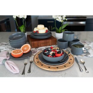 Gutierrez 16 Piece Dinnerware Set Service For 4