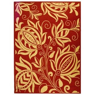 Herefordshire Red/Natural Indoor/Outdoor Area Rug