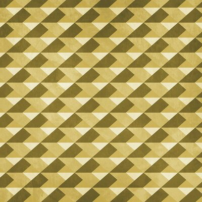 Diamond Wallpaper Roll Coordonne Color: Yellow