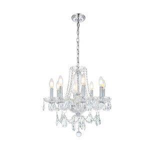 High-End Rochelle 8-Light Candle Style Chandelier By Rosdorf Park