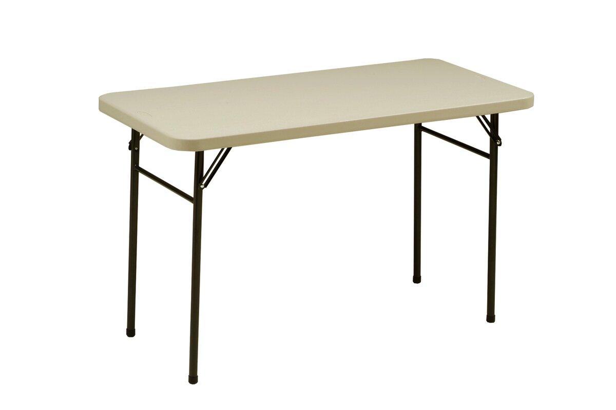 """Meco 48"""" Rectangular Folding Table & Reviews"""