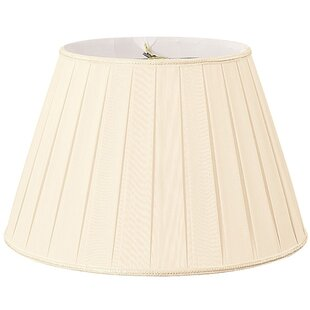 Price Check 20 Silk/Shantung Empire Lamp Shade By Alcott Hill