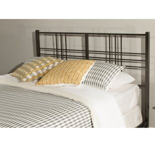 Bastien Tubular Steel Open-Frame Headboard by Andover Mills