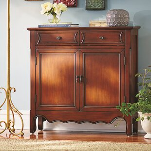 Mauzy 2 Door Accent Cabinet by Lark Manor