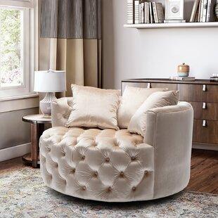 Frison Swivel Barrel Chair