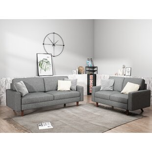 McKenly Modern 2 Piece Living Room Set (Set of 2) by Turn on the Brights