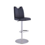 Erno Adjustable Height Swivel Bar Stool by Orren Ellis