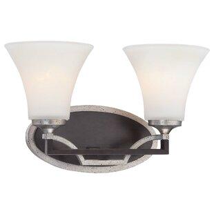 Elio 2-Light Vanity Light by Charlton Home