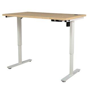 Latitude Run Kursk Height Adjustable Standing Desk with Single Motor
