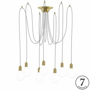 17 Stories Ian 7-Light Cluster Pendant