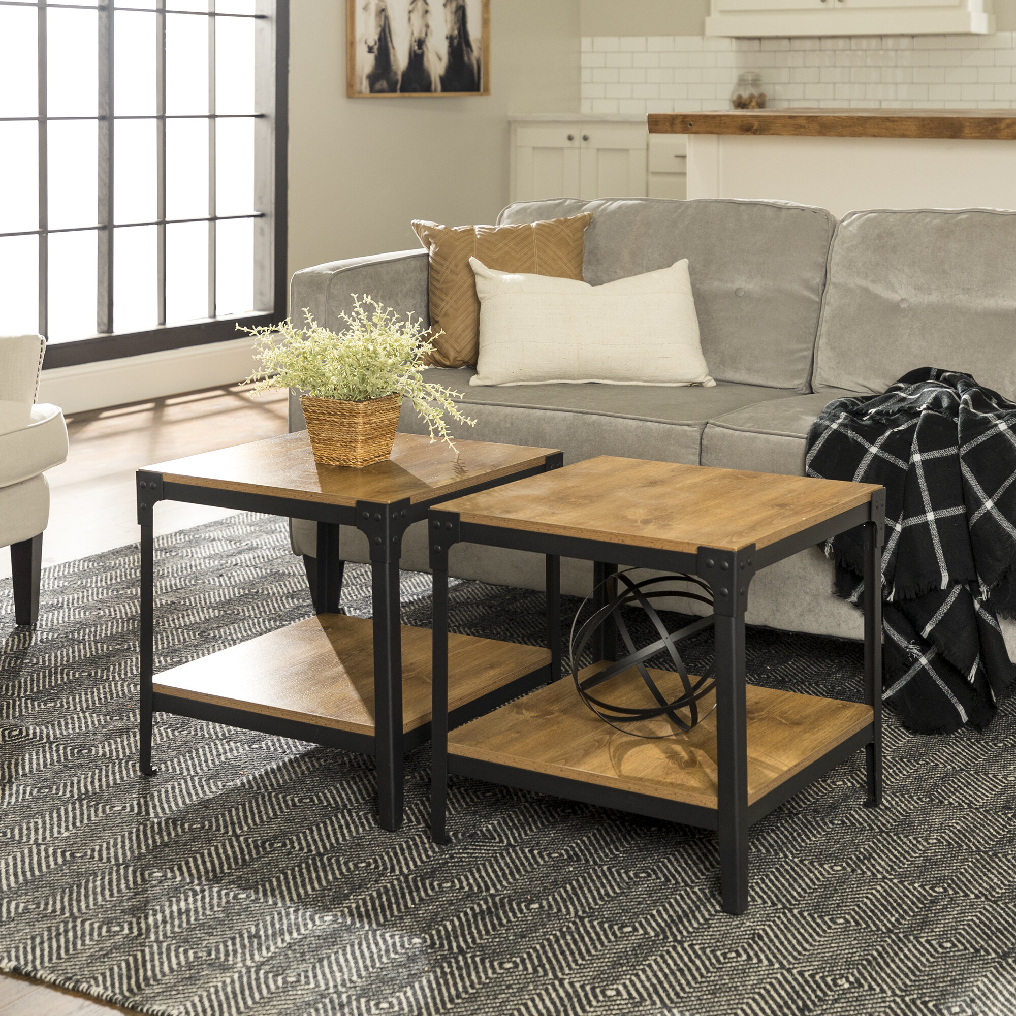 Picture of: Black End Side Tables You Ll Love In 2020 Wayfair