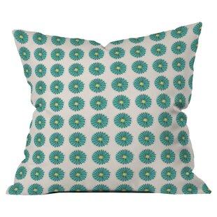 Mummysam Flowers Outdoor Throw Pillow