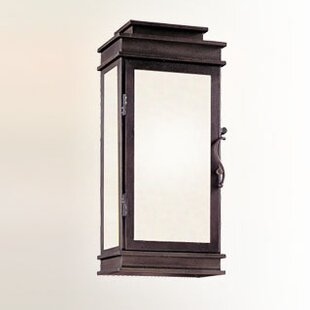 Order Walworth 1-Light Outdoor Flush Mount By Darby Home Co