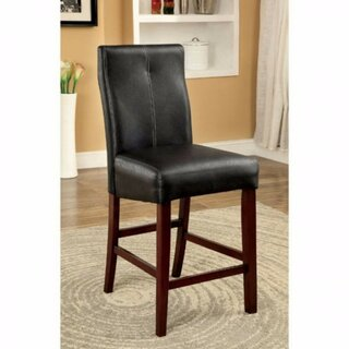 Weronika Contemporary Leather Upholstered Dining Chair (Set of 2) by Red Barrel Studio SKU:CE355600 Check Price