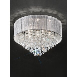 8093e26e25e Royale 7 Light Flush Ceiling Light. by Franklite