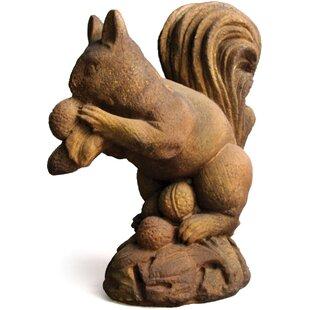 OrlandiStatuary Animals Woodland Squirrel Statue