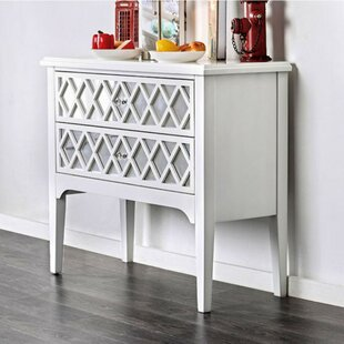Bronagh Contemporary 2 Drawers Console Table