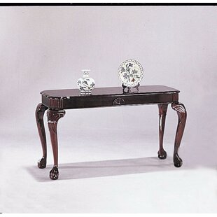 Planas Royal Wooden Console Table by Astoria Grand