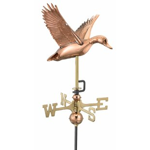 Flying Duck Weathervane By Good Directions