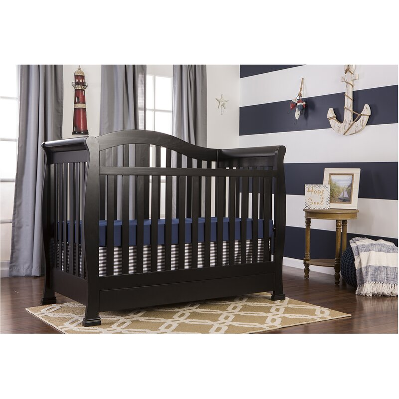 on me 4 in 1 convertible crib with storage reviews