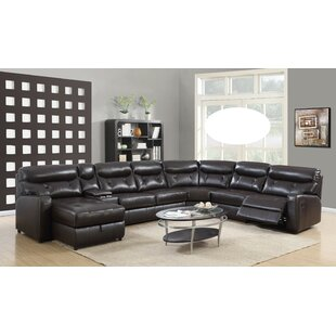 Lizbeth Leather Sectional by Red Barrel Studio