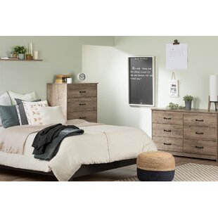 Tassio Queen Platform Configurable Bedroom Set by South Shore