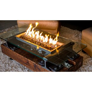Music City Fire Company Trackside ™ Propane/Natural Gas Fire Pit Table