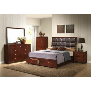 Ilana Low Profile Storage Standard Bed by Simple Relax