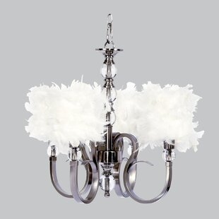 Jubilee Collection Hampton 4-Light Shaded Chandelier