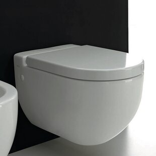 WS Bath Collections One Evolution Elongated Toilet Bowl