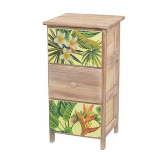 McLellen 3 Drawer Chest By Bay Isle Home