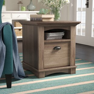 Beachcrest Home Pinellas End Table With Storage